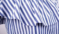 Балі. Літнє плаття плюс сайз. Синя смужка.