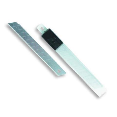 Лезвия сменные для канцелярских ножей Attache 9 мм сегментированные (10 штук в упаковке)