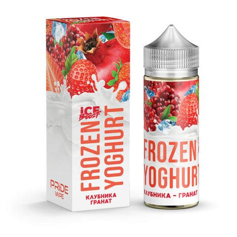 Жидкость Frozen Yoghurt Ice Boost 120 мл Клубника Гранат