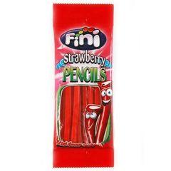 Жевательный мармелад Fini Strawberry pencils со вкусом клубники 100 гр