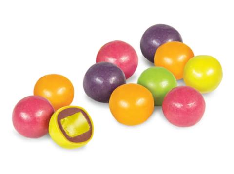 Драже Мармелад фруктовый микс в шоколадной глазури, 100гр