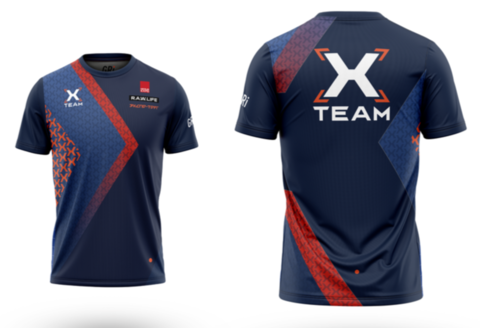 Футболка клубная GRi X-team, женская