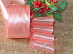 Лента атласная шириной 6мм розовая - 036