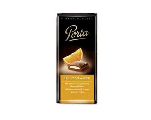 Молочный шоколад с начинкой Апельсин Weinrichs 1895 Porta, 100 г
