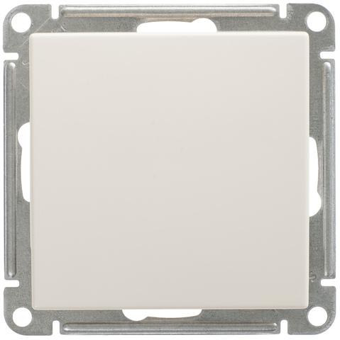 Выключатель одноклавишный, 16АХ. Цвет Слоновая кость. Schneider Electric Wessen 59. VS116-154-2-86