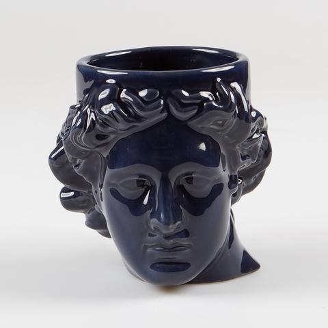 Кружка керамическая Hestia синяя