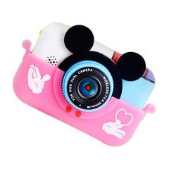 Фотоаппарат детский SmileZoom Микки Розовый 28 Мп