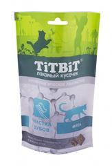 Лакомство для кошек TitBit, хрустящие подушечки, с мясом утки