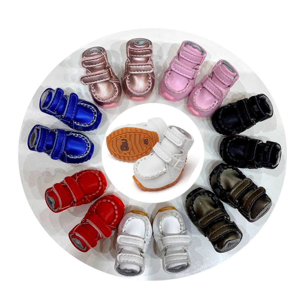 302 эргономичные ботинки для собак из эко кожи