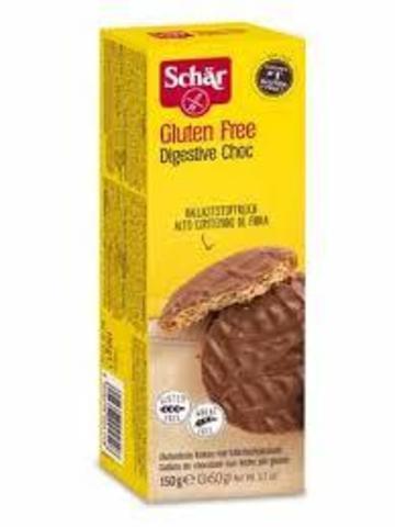 Печенье (Digestive Choc) Дайджестив 150г б/глютен Schar