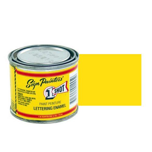 Пинстрайпинг (pinstriping) 132-L Эмаль для пинстрайпинга 1 Shot Желтый лимон (Lemon Yellow), 118 мл LemonYellow.jpg