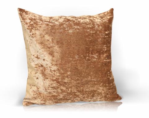 Подушка декоративная Бархат светлый терракот