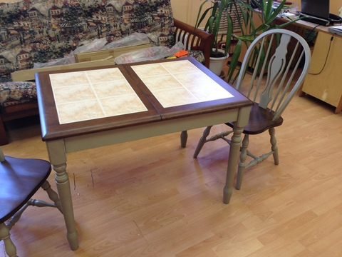 Стол Roma Tile 75х105/133 см