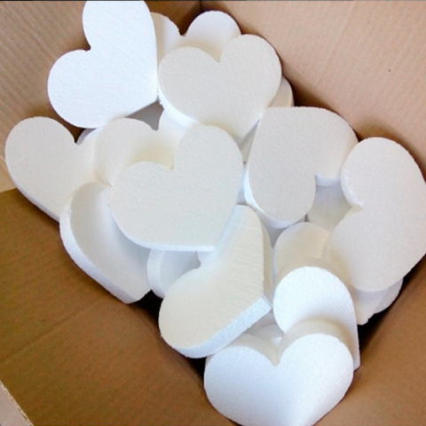 Сердце из пенопласта фото