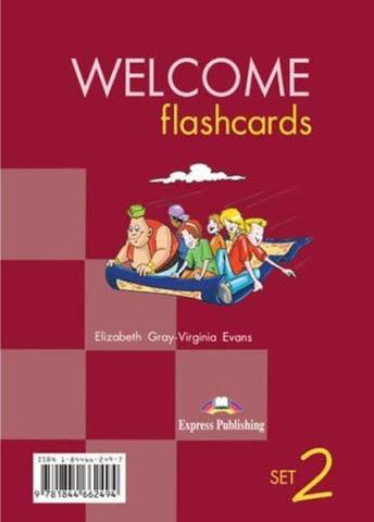 Welcome Aboard 2. Picture Flashcards. Раздаточный материал