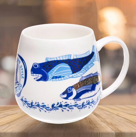 "VELIKOROSS mug ""Russian fishing"""
