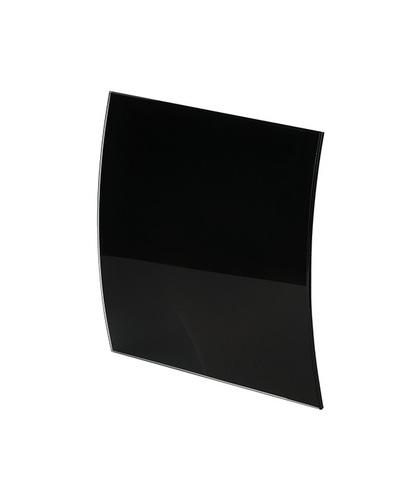 Панель декоративная для вентилятора KW AWENTA PEGB100P черная матовое стекло