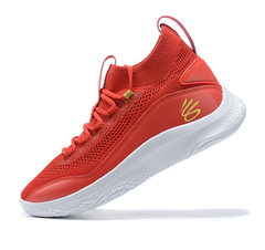 Curry Flow 8 'Red/White'