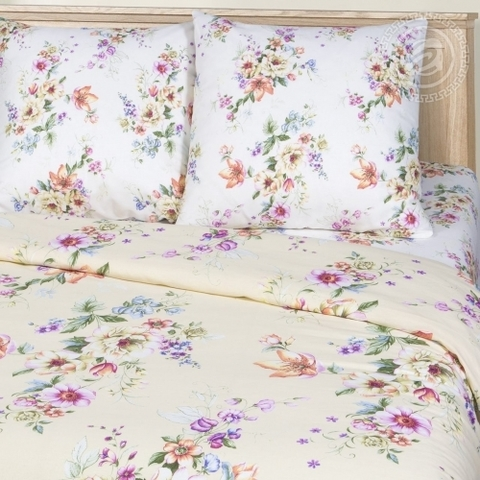 Комплект постельного белья Очарование Премиум