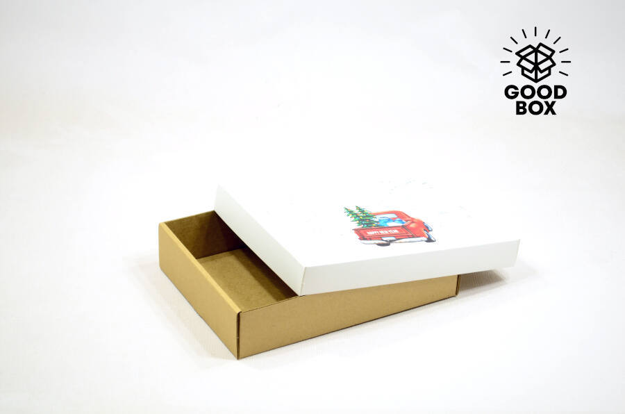Новогодние коробки купить в Алматы с доставкой