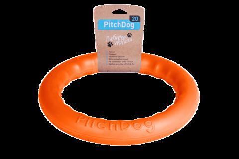 Кільце для апортировки PitchDog20, діаметр 20см помаранчевий