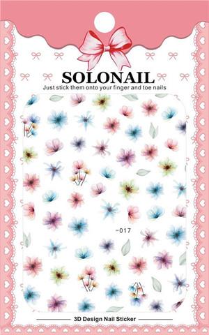 Наклейка силиконовая SOLO-17