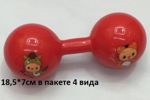 Гантеля 1060275 резин. (Св)