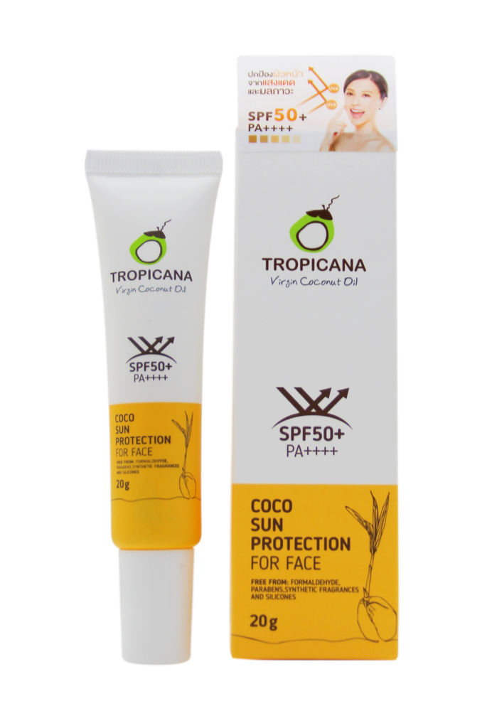 TROPICANA OIL Крем Защита от солнца для лица SPF 50+ ,TROPICANA OIL, 20мл coco-sun-protection-for-face-20g-685x1024.png