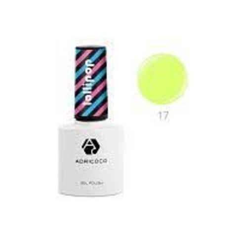 Гель-лак ADRICOCO Lollipop №17 - Мармеладное драже (8 мл.)