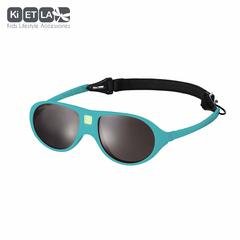 Очки солнцезащитные детские Ki ET LA Jokala 2-4 года. Peacok Blue (бирюзовый)