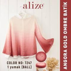 Пряжа Alize Angora Gold Ombre Batik цвет 7247