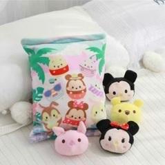 Герои Диснея подушка с игрушками