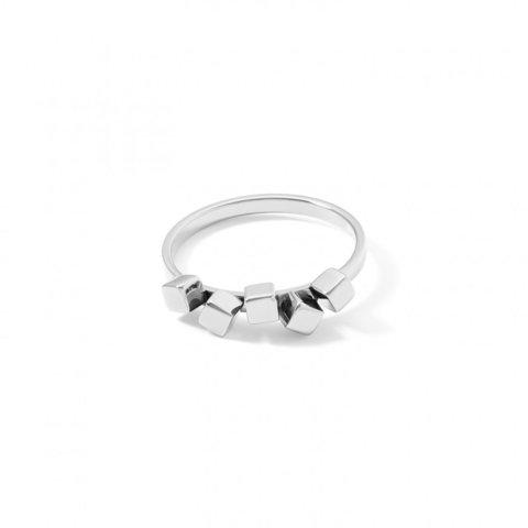 Кольцо Silver 17.8 5070/40-1700 56 цвет серебряный