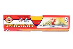Карандаши цветные jumbo TRIOCOLOR 3151, 6 цветов