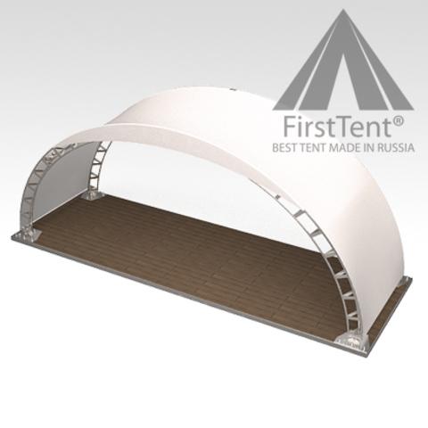 Арочный шатер 8х4