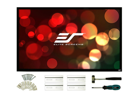 Elite Screens R135WH1, экран на раме