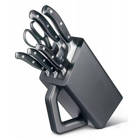 Набор ножей для кухни Victorinox Forged (7.7243.6) 6 шт кованные черные в подставке
