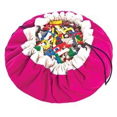 Коврик-мешок для игрушек (2 в 1) Play&Go Classic ФУКСИЯ