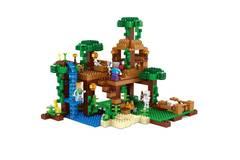 Конструктор Майнкрафт 10471  Домик на дереве в джунглях 718 д