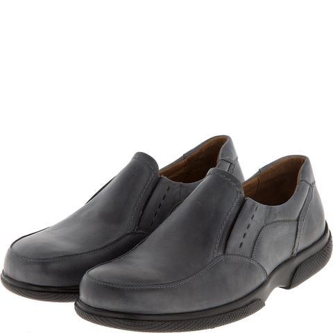 582367 полуботинки мужские серые. КупиРазмер — обувь больших размеров марки Делфино
