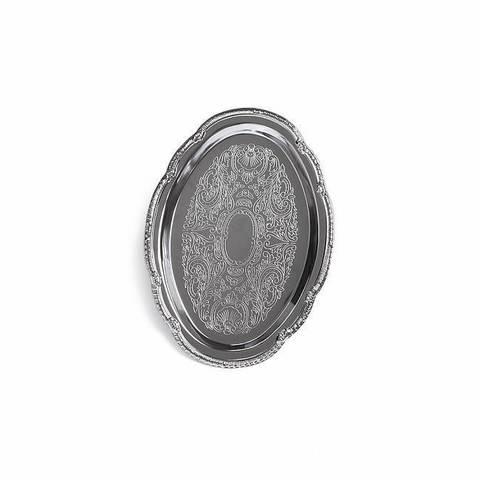 9421 FISSMAN Поднос 24х17 см, металл хромированный,  купить