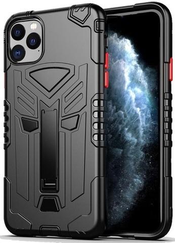 Чехол для iPhone 11 Pro серии Dual X с магнитом и складной подставкой, черного цвета от Caseport