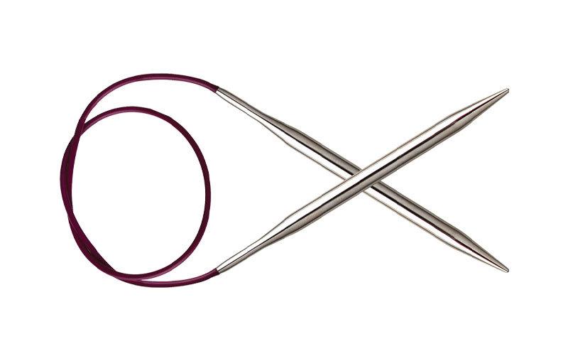 Спицы KnitPro Nova Metal круговые 5,5 мм/40 см 10356