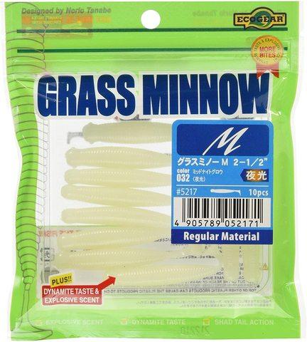 Силиконовая приманка ECOGEAR Grass Minnow #032 (10шт)