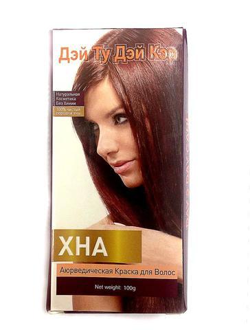 Аюрведическая краска для волос (Дэй Ту Дэй Кэр) ХНА,100гм