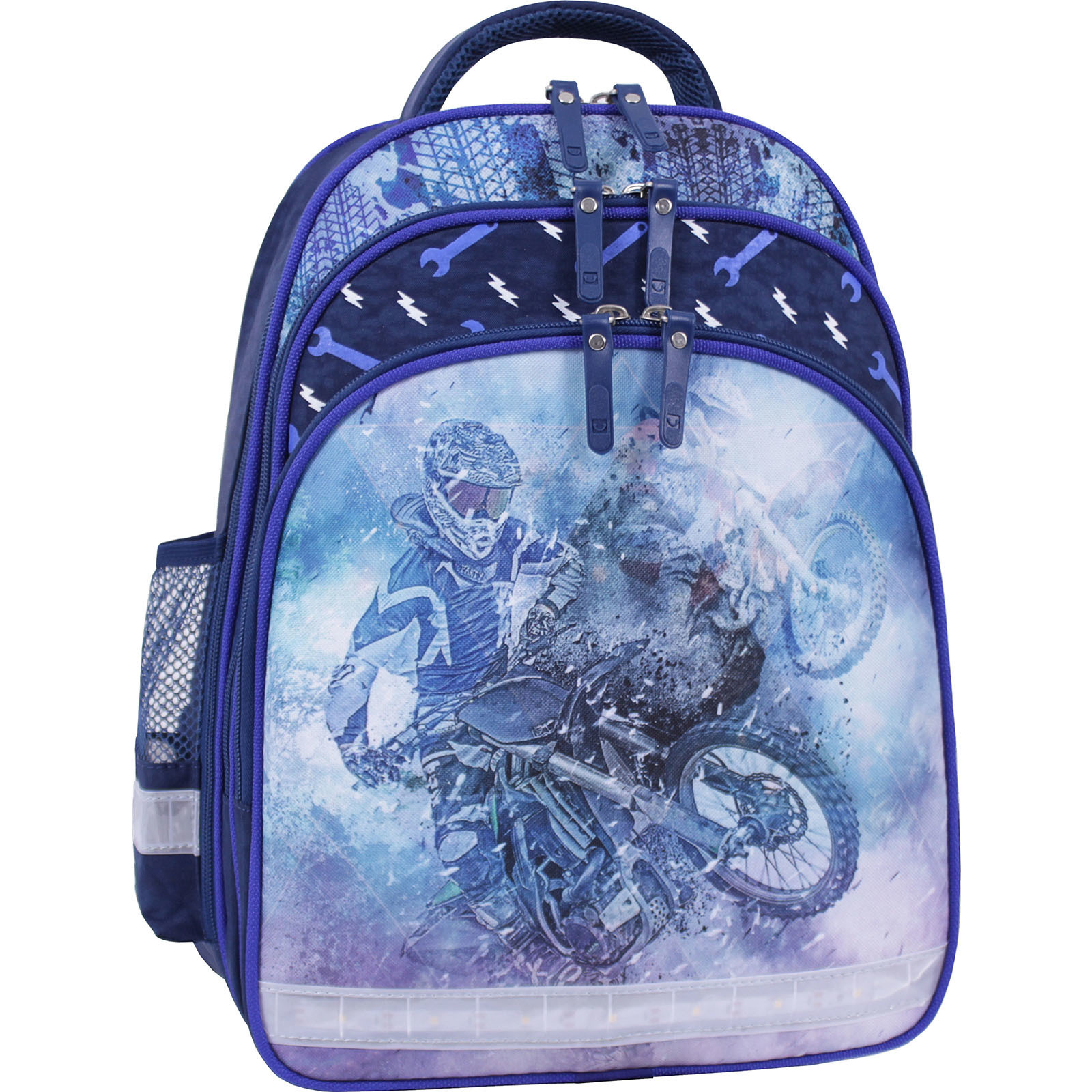 Детские рюкзаки Рюкзак школьный Bagland Mouse 225 синий 534 (0051370) IMG_9958_суб.534_.JPG
