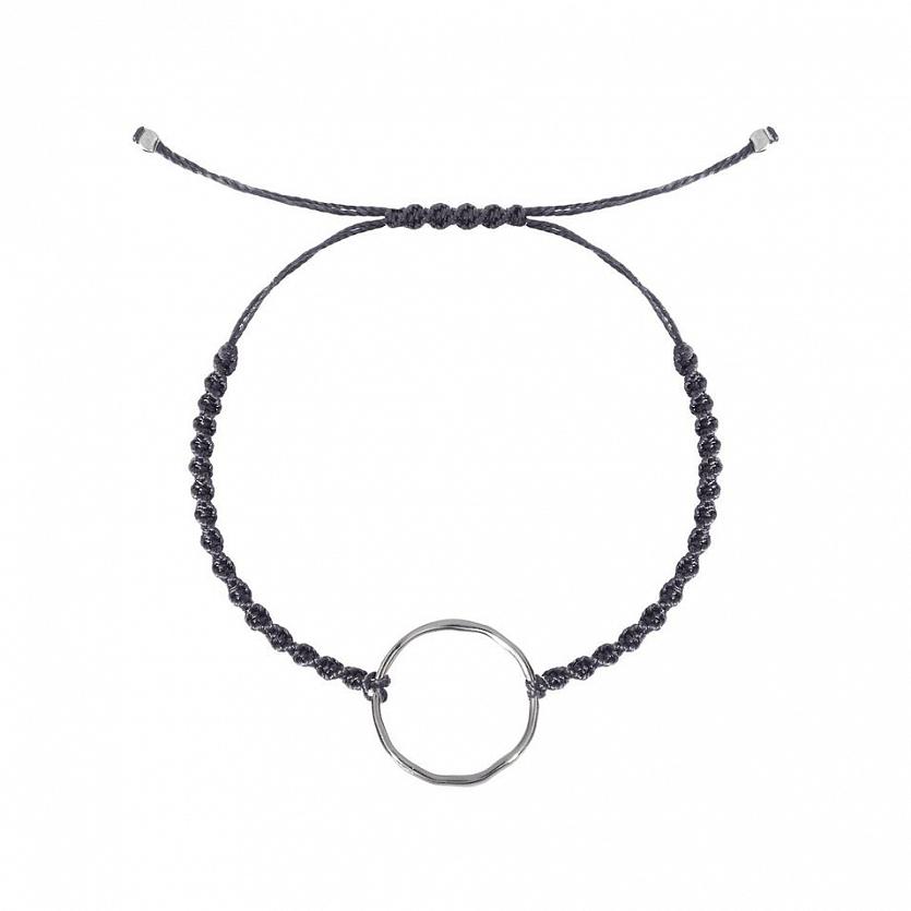 Браслет с кольцом «волна» ANNA MASLOVSKAYA
