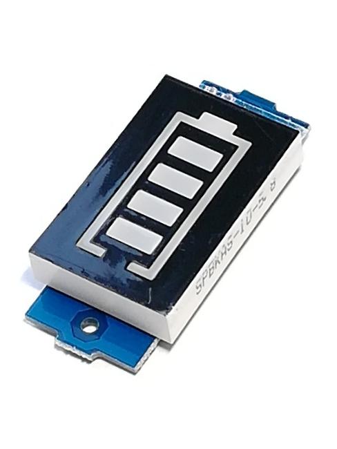 Индикатор уровня заряда литиевых батарей 2S