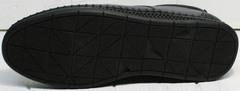 Спортивные кожаные туфли мокасины мужские Ridge Z-430 75-80Gray.