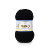 Пряжа Nako Bambino 9002 (Черный)